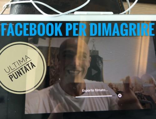 FACEBOOK PER DIMAGRIRE – FINE